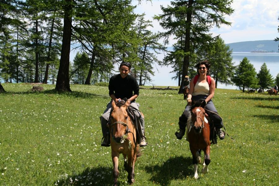 Horseback Riding for Beginners in Mongolia