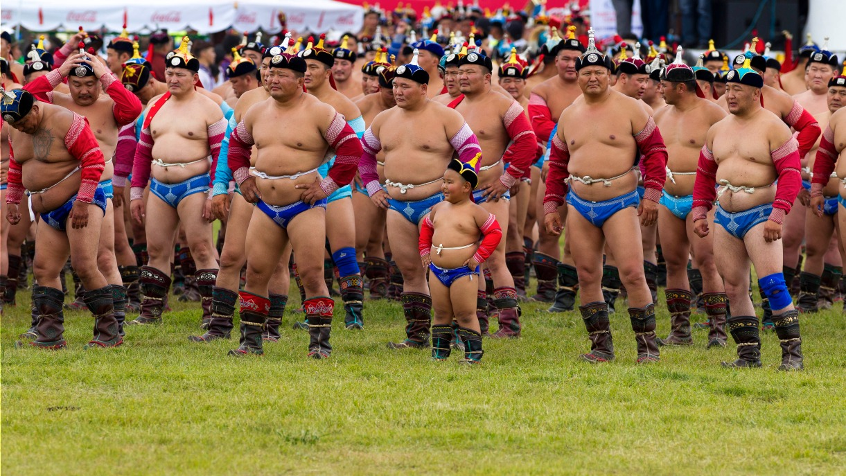 фото борца из монголии фотографии, жена увидела
