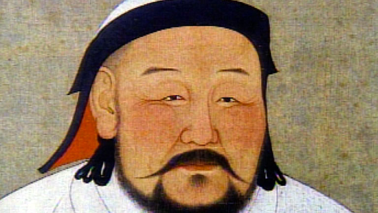 a biography of the great mongolian leader genghis khan Genghis khan birth name: temüjin  they met that did not acknowledge genghis as the rightful leader of the  to follow the great khan, who was initially genghis.
